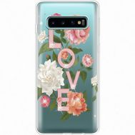 Силиконовый чехол BoxFace Samsung G973 Galaxy S10 Love (935879-rs14)