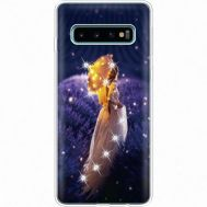 Силиконовый чехол BoxFace Samsung G973 Galaxy S10 Girl with Umbrella (935879-rs20)
