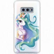 Силиконовый чехол BoxFace Samsung G970 Galaxy S10e Unicorn Queen (935884-rs3)