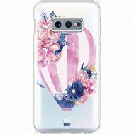 Силиконовый чехол BoxFace Samsung G970 Galaxy S10e Pink Air Baloon (935884-rs6)