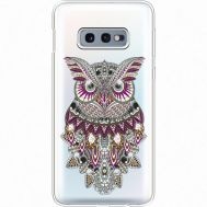 Силиконовый чехол BoxFace Samsung G970 Galaxy S10e Owl (935884-rs9)