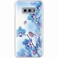 Силиконовый чехол BoxFace Samsung G970 Galaxy S10e Orchids (935884-rs16)