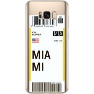 Силиконовый чехол BoxFace Samsung G955 Galaxy S8 Plus Ticket Miami (35050-cc81)