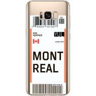 Силиконовый чехол BoxFace Samsung G955 Galaxy S8 Plus Ticket Monreal (35050-cc87)
