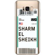 Силиконовый чехол BoxFace Samsung G955 Galaxy S8 Plus Ticket Sharmel Sheikh (35050-cc90)
