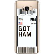 Силиконовый чехол BoxFace Samsung G955 Galaxy S8 Plus Ticket Gotham (35050-cc92)