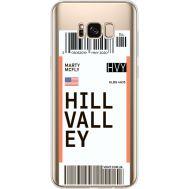 Силиконовый чехол BoxFace Samsung G955 Galaxy S8 Plus Ticket Hill Valley (35050-cc94)
