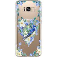 Силиконовый чехол BoxFace Samsung G955 Galaxy S8 Plus Spring Bird (35050-cc96)