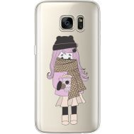 Силиконовый чехол BoxFace Samsung G930 Galaxy S7 Winter Morning Girl (35495-cc61)