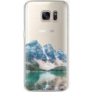Силиконовый чехол BoxFace Samsung G930 Galaxy S7 Blue Mountain (35495-cc68)