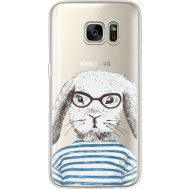 Силиконовый чехол BoxFace Samsung G930 Galaxy S7 MR. Rabbit (35495-cc71)