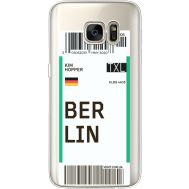 Силиконовый чехол BoxFace Samsung G930 Galaxy S7 Ticket Berrlin (35495-cc80)