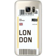 Силиконовый чехол BoxFace Samsung G930 Galaxy S7 Ticket London (35495-cc83)