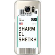 Силиконовый чехол BoxFace Samsung G930 Galaxy S7 Ticket Sharmel Sheikh (35495-cc90)