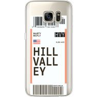 Силиконовый чехол BoxFace Samsung G930 Galaxy S7 Ticket Hill Valley (35495-cc94)