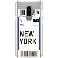 Силиконовый чехол BoxFace Samsung G965 Galaxy S9 Plus Ticket New York (35749-cc84)