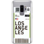 Силиконовый чехол BoxFace Samsung G965 Galaxy S9 Plus Ticket Los Angeles (35749-cc85)