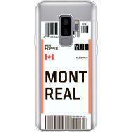Силиконовый чехол BoxFace Samsung G965 Galaxy S9 Plus Ticket Monreal (35749-cc87)