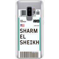 Силиконовый чехол BoxFace Samsung G965 Galaxy S9 Plus Ticket Sharmel Sheikh (35749-cc90)