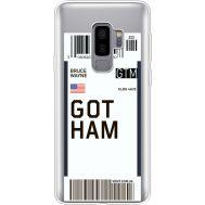 Силиконовый чехол BoxFace Samsung G965 Galaxy S9 Plus Ticket Gotham (35749-cc92)
