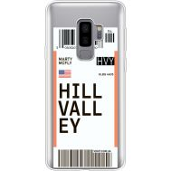 Силиконовый чехол BoxFace Samsung G965 Galaxy S9 Plus Ticket Hill Valley (35749-cc94)