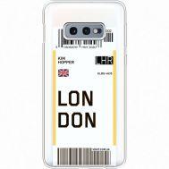 Силиконовый чехол BoxFace Samsung G970 Galaxy S10e Ticket London (35884-cc83)