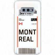 Силиконовый чехол BoxFace Samsung G970 Galaxy S10e Ticket Monreal (35884-cc87)