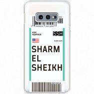 Силиконовый чехол BoxFace Samsung G970 Galaxy S10e Ticket Sharmel Sheikh (35884-cc90)
