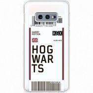Силиконовый чехол BoxFace Samsung G970 Galaxy S10e Ticket Hogwarts (35884-cc91)