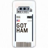 Силиконовый чехол BoxFace Samsung G970 Galaxy S10e Ticket Gotham (35884-cc92)