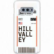 Силиконовый чехол BoxFace Samsung G970 Galaxy S10e Ticket Hill Valley (35884-cc94)