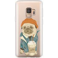 Силиконовый чехол BoxFace Samsung G960 Galaxy S9 Dog Coffeeman (36194-cc70)