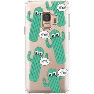 Силиконовый чехол BoxFace Samsung G960 Galaxy S9 с 3D-глазками HIYA (36194-cc72)