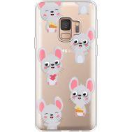 Силиконовый чехол BoxFace Samsung G960 Galaxy S9 с 3D-глазками Mouse (36194-cc76)