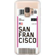 Силиконовый чехол BoxFace Samsung G960 Galaxy S9 Ticket San Francisco (36194-cc79)