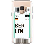 Силиконовый чехол BoxFace Samsung G960 Galaxy S9 Ticket Berrlin (36194-cc80)