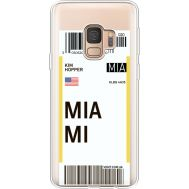 Силиконовый чехол BoxFace Samsung G960 Galaxy S9 Ticket Miami (36194-cc81)