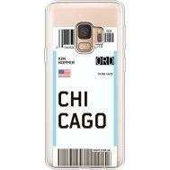Силиконовый чехол BoxFace Samsung G960 Galaxy S9 Ticket Chicago (36194-cc82)