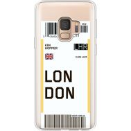 Силиконовый чехол BoxFace Samsung G960 Galaxy S9 Ticket London (36194-cc83)