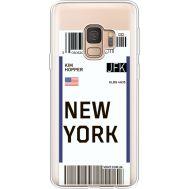 Силиконовый чехол BoxFace Samsung G960 Galaxy S9 Ticket New York (36194-cc84)