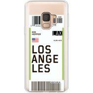 Силиконовый чехол BoxFace Samsung G960 Galaxy S9 Ticket Los Angeles (36194-cc85)