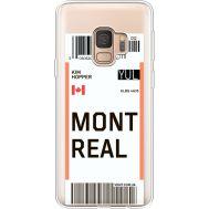 Силиконовый чехол BoxFace Samsung G960 Galaxy S9 Ticket Monreal (36194-cc87)