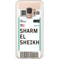 Силиконовый чехол BoxFace Samsung G960 Galaxy S9 Ticket Sharmel Sheikh (36194-cc90)