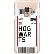 Силиконовый чехол BoxFace Samsung G960 Galaxy S9 Ticket Hogwarts (36194-cc91)