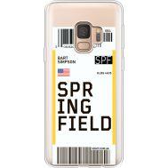 Силиконовый чехол BoxFace Samsung G960 Galaxy S9 Ticket Springfield (36194-cc93)