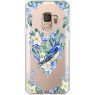 Силиконовый чехол BoxFace Samsung G960 Galaxy S9 Spring Bird (36194-cc96)