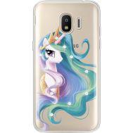 Силиконовый чехол BoxFace Samsung J250 Galaxy J2 (2018) Unicorn Queen (935055-rs3)