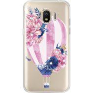 Силиконовый чехол BoxFace Samsung J250 Galaxy J2 (2018) Pink Air Baloon (935055-rs6)