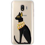 Силиконовый чехол BoxFace Samsung J250 Galaxy J2 (2018) Egipet Cat (935055-rs8)