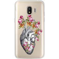 Силиконовый чехол BoxFace Samsung J250 Galaxy J2 (2018) Heart (935055-rs11)